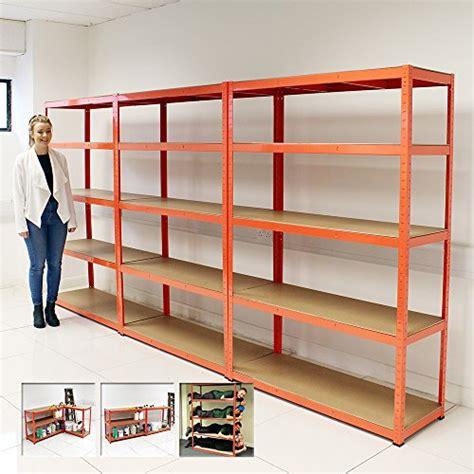 Garage Storage Racking Shelving by Elephant 174 120cm Wide Heavy Duty 5 Tier Shelf