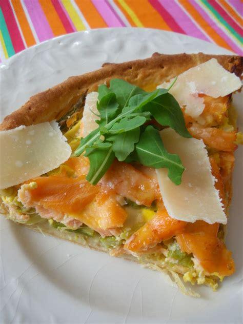 tarte aux asperges et au saumon frais et fum 233 sa p 226 te au parmesan f 233 es mains by marjorie