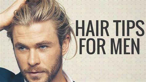 hair tips  men    full thick healthy hair