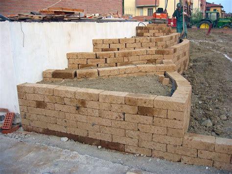 mattoni tufo per giardino prezzi 187 mattoni per giardino