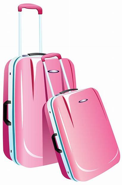 Clipart Travel Bags Bag Transparent Luggage Cartoon