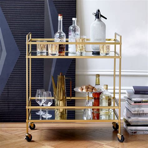 Bar Cart by Terrace Bar Cart West Elm Australia