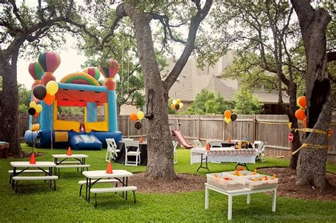 Backyard Kids Party With Jumping Castle  Planet Entertainment