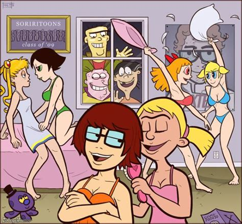 College Years Of Famous Cartoon Characters 7 Pics
