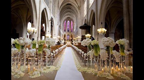 Decoración de la iglesia para la boda YouTube