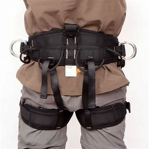 Rock Climbing Tree Surgeon Rappelling Harness Seat Safety