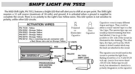 msd 6al tach wiring diagram msd digital 6 wiring diagram