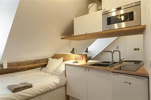 Cuisine Pour Studio : petit appart 39 paris ce n 39 est pas la taille qui compte ~ Premium-room.com Idées de Décoration