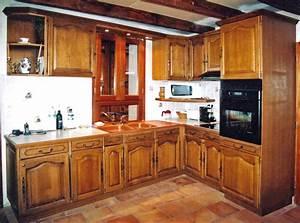un ensemble de cuisine traditionnel sur mesure bois le With ensemble de cuisine en bois