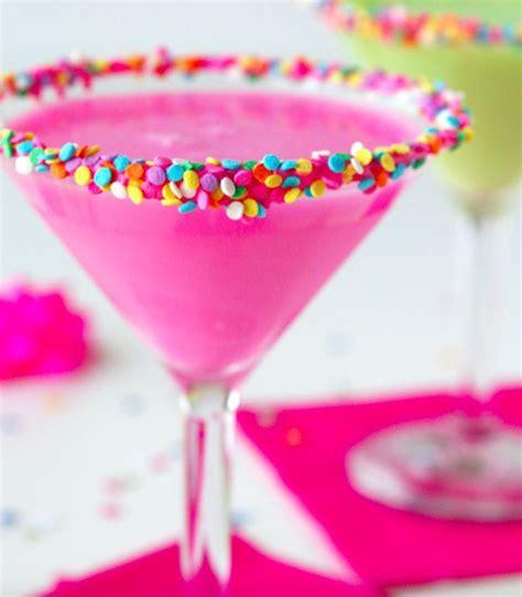 birthday cake martini ideas  pinterest cake