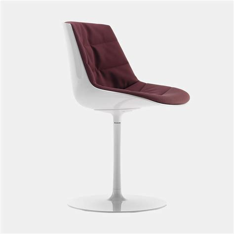 flow chair padded and padded chair mdf italia