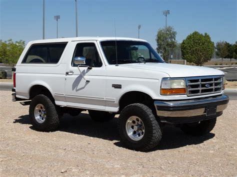 Ford Bronco Lift Kit by 1993 Ford Bronco Xlt 5 8l V8 Lift Kit Fully Restored