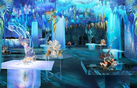 ocean theme event decor general ideas
