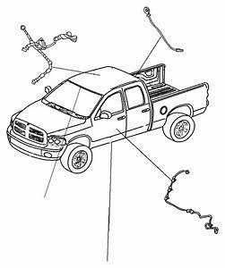 Ram Laramie Wiring  Sunroof  Trim   No Description