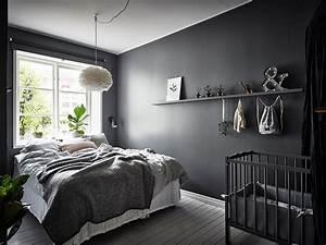 Beautiful, Dark, Bedroom