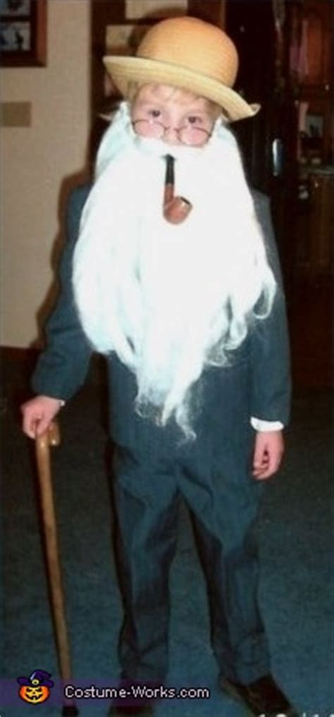 Old Man Halloween Costume for Boys - Photo 2/2