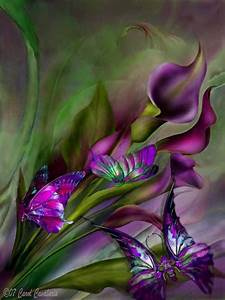 Painting of flowers and butterflies | Drawings/Paintings ...