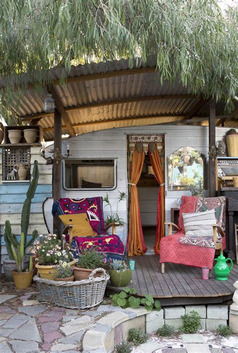 boho style house boho house on wheels s t a r d u s t decor style