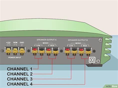 collegare  ponte  amplificatore  passaggi