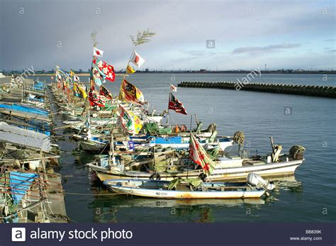 Fishing Boat Japanese by Japanese Fishing Boats At New Year Kuwana City Mie