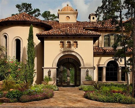 Awesome Mediterranean Spanish Style Homes Pictures House