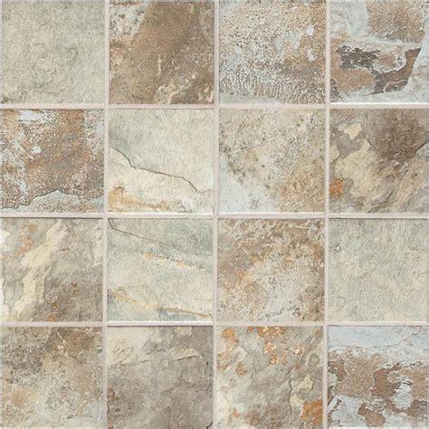 American Olean Ceramic Mosaic Tile by Shop American Olean 12 Pack Kendal Slate Carlisle Black