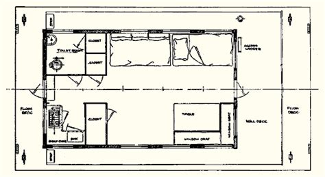 Scow Houseboat Plans by Atkin Co Nautilus