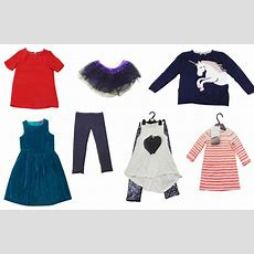 One Off Lot Of 39 Assorted Clothing Items Girls Kids Skirts Tops Etc