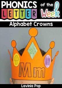 My Alphabet Chart Alphabet Crowns By Lavinia Pop Teachers Pay Teachers