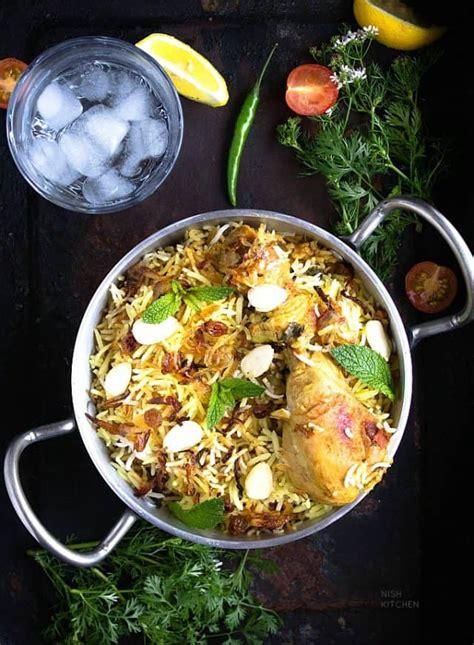 hyderabadi chicken biryani nish kitchen