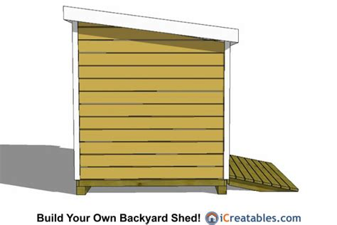 8x8 lean to shed plans storage shed plans icreatables com