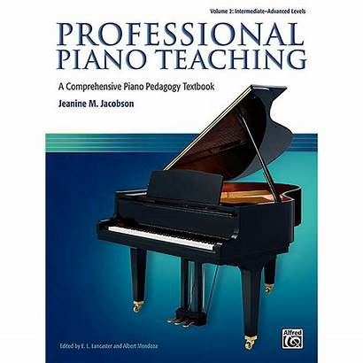 Piano Intermediate Teaching Advanced Alfred Volume Professional