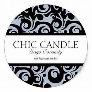 custom candle labels seal round stickers With custom candle stickers