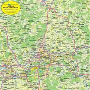 Möbelhäuser Frankfurt Am Main Und Umgebung : karte von frankfurt main metropolregion region in deutschland welt ~ Bigdaddyawards.com Haus und Dekorationen