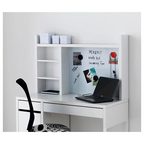 micke add on unit high white 105x65 cm ikea
