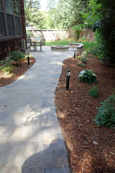 The Patio Westhton by Belgard Patio And Path With Belgard Weston Wall