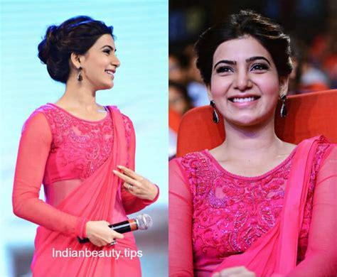 samantha prabhus  trendy hairstyles indian beauty tips