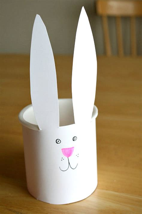 recycled easter bunny bucket   takes