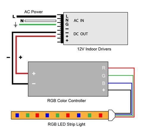 Vlightdeco Trading Led Wiring Diagrams For Lighting