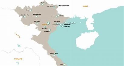 Vietnam Essence Northern Map Travel Package