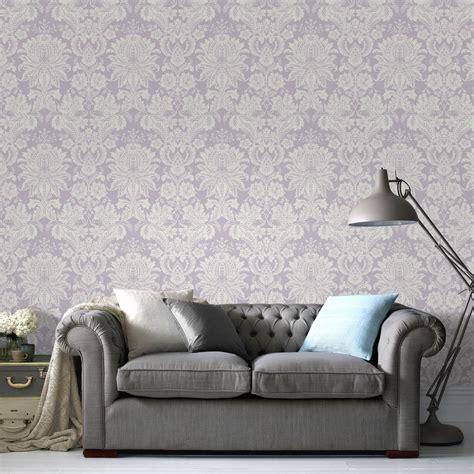 Living Room Wallpaper Lilac by Superfresco Easy Lilac Venetian Wallpaper Departments