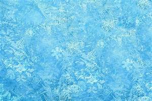 Frozen Winter Pattern Background Board Decoration Decor