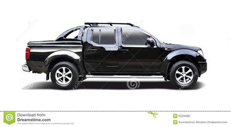 nissan trucks black black nissan navara stock photo image 55236380