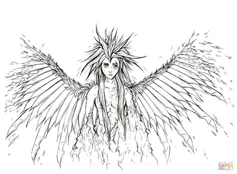 angel wings coloring pages  print coloring home