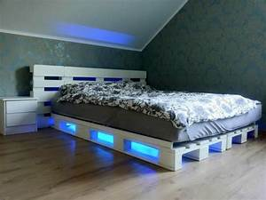 12, Genius, Ideas, For, Pallet, Bed, With, Lights, Underneath