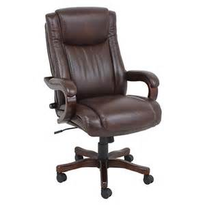 global furniture executive wooden chair brown bj s