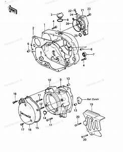 Kawasaki Motorcycle Parts 1979 Klx250