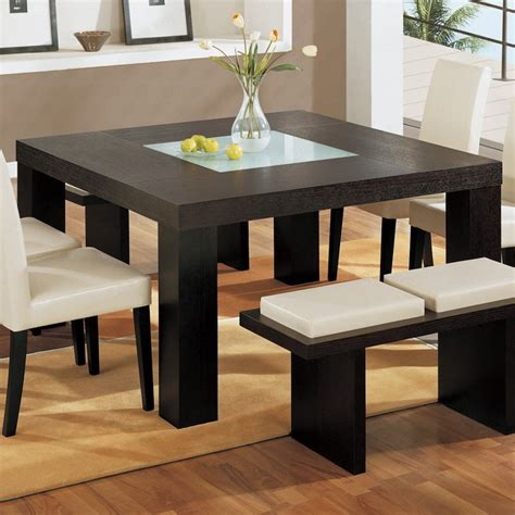 charming square dining table ideas  glam   home