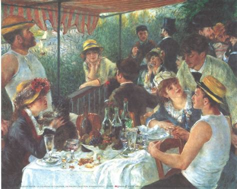 Synopsis Of Luncheon Of The Boating Party by Luncheon Of The Boating Party 1880 81 Art Print Buy At