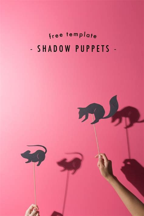 shadow puppets cricut template shadow puppets puppets